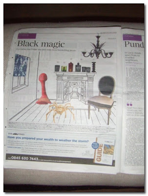 ghost furniture in the times