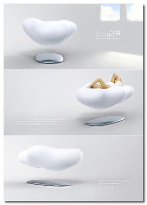 floating sofa by koo touch
