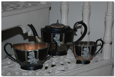 ghost furniture tea set