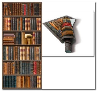 koziel library wallpaper
