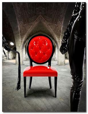 red salon chair munna design