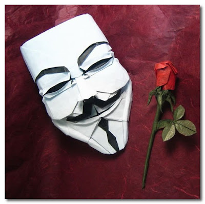 guy fawkes origami