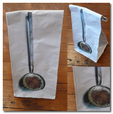 vintage utensil bags