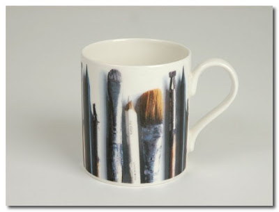 ella doran paintbrush mug