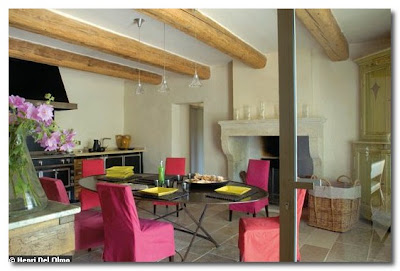 renovated cheese house in saint remy france