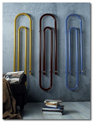 paper clip radiator by scirocco