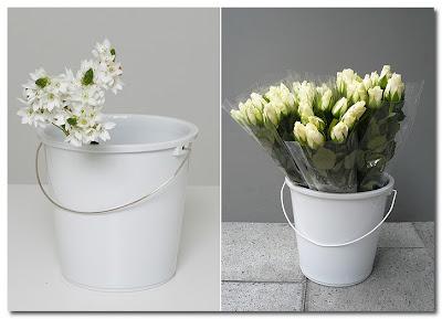 bucket vase by tina roeder