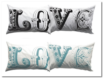 hub interiors love pillow cases