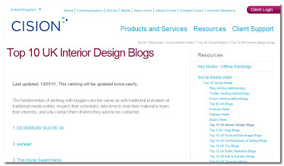 top 10 uk interior design blogs