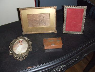 my purchases at the antiques fair