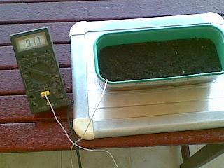 Toprağın Sıcaklığının Digital Termometre ile ölçülmesi