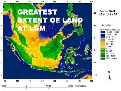 much of the southern portion of todays south china sea was dry land when the world experienced a particularly cold episode about 21000 years ago