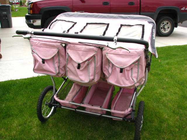 The New Me...Healthy and Fit!: Triple Jogging Stroller FOR SALE