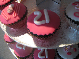 21st cupcakes 31.10.09