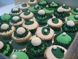 golf cupcakes 31.10.09