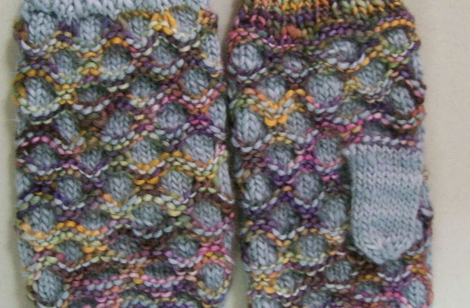 Knittraders Of Kingston Patterns Honeycomb Mittens