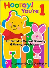 IST BIRTHDAY MOMENT GIVEAWAY