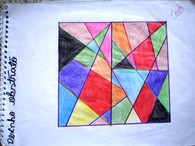 O que é arte abstrata geometrica