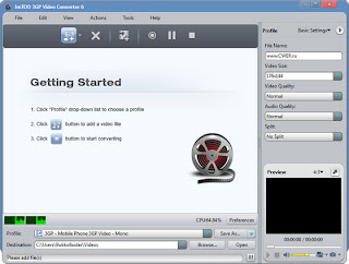 ImTOO 3GP Video Converter 6.0.3.0716