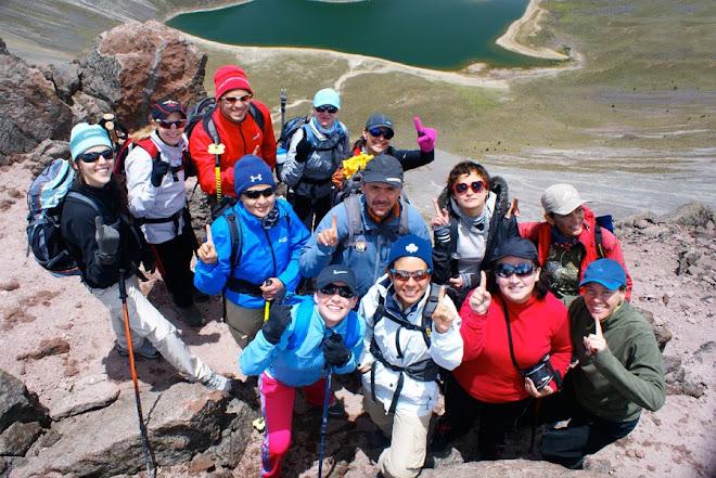 Primera cumbre. Nevado de Toluca. 4,680 mts