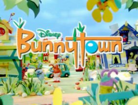 Bunnytown playhouse disney channel infantil canciones niños colorea pinta