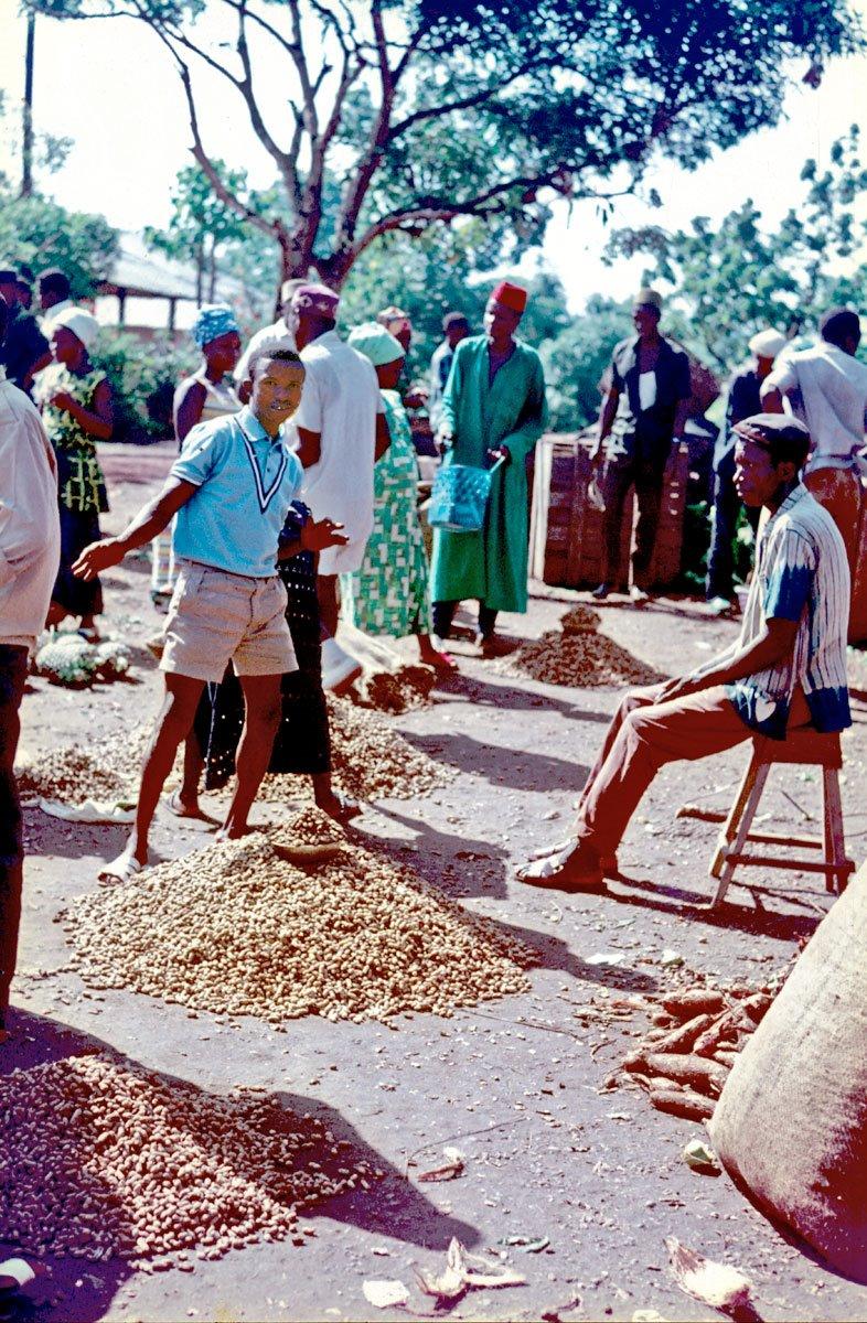 groundnut (peanut) market - Kenema
