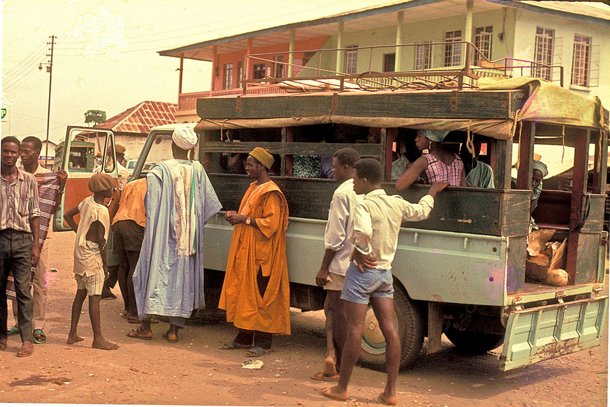 public transport at Kenema