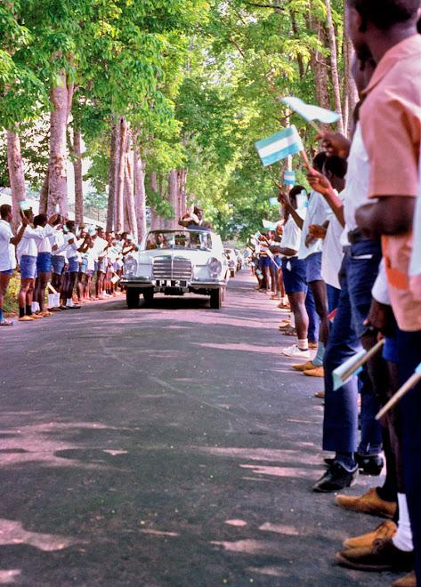 Prime Minister (1969) visit to Kenema (Siaka Stevens)