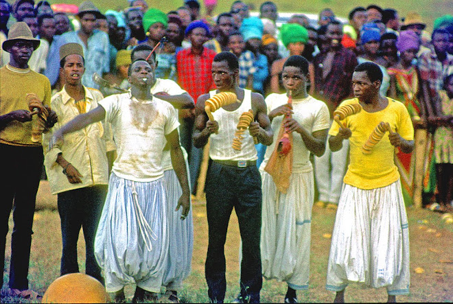 Fula musicians - Kenema Fair