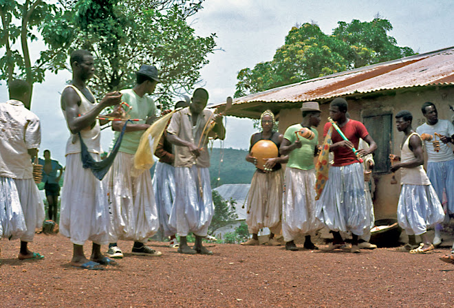 Fula musicians at Kenema
