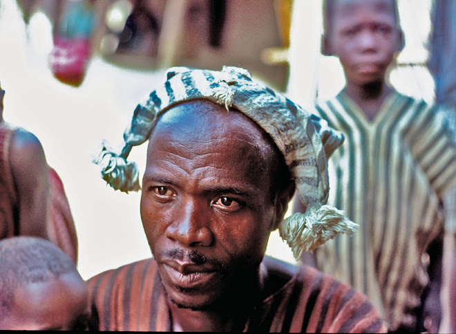 Kuranko man with cap - village of Sokurella near Bintimani