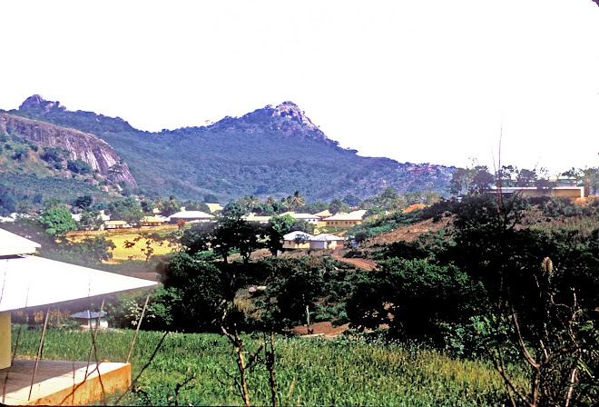 view of Kabala from the secondary school