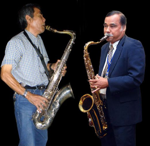 THE MAN BEHIND THE SAXOPHONE