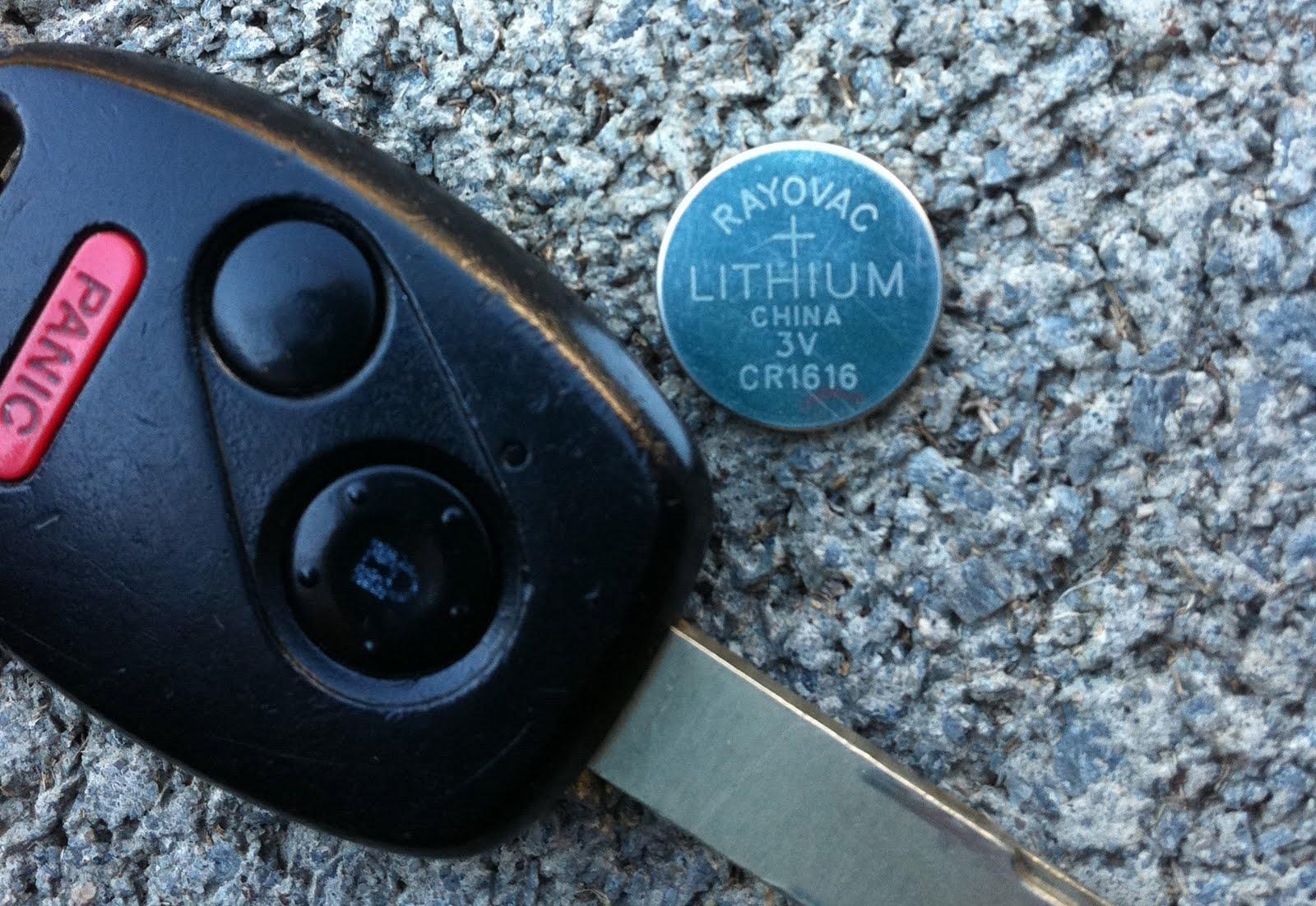 key fob battery