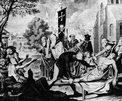 the black death plague  a