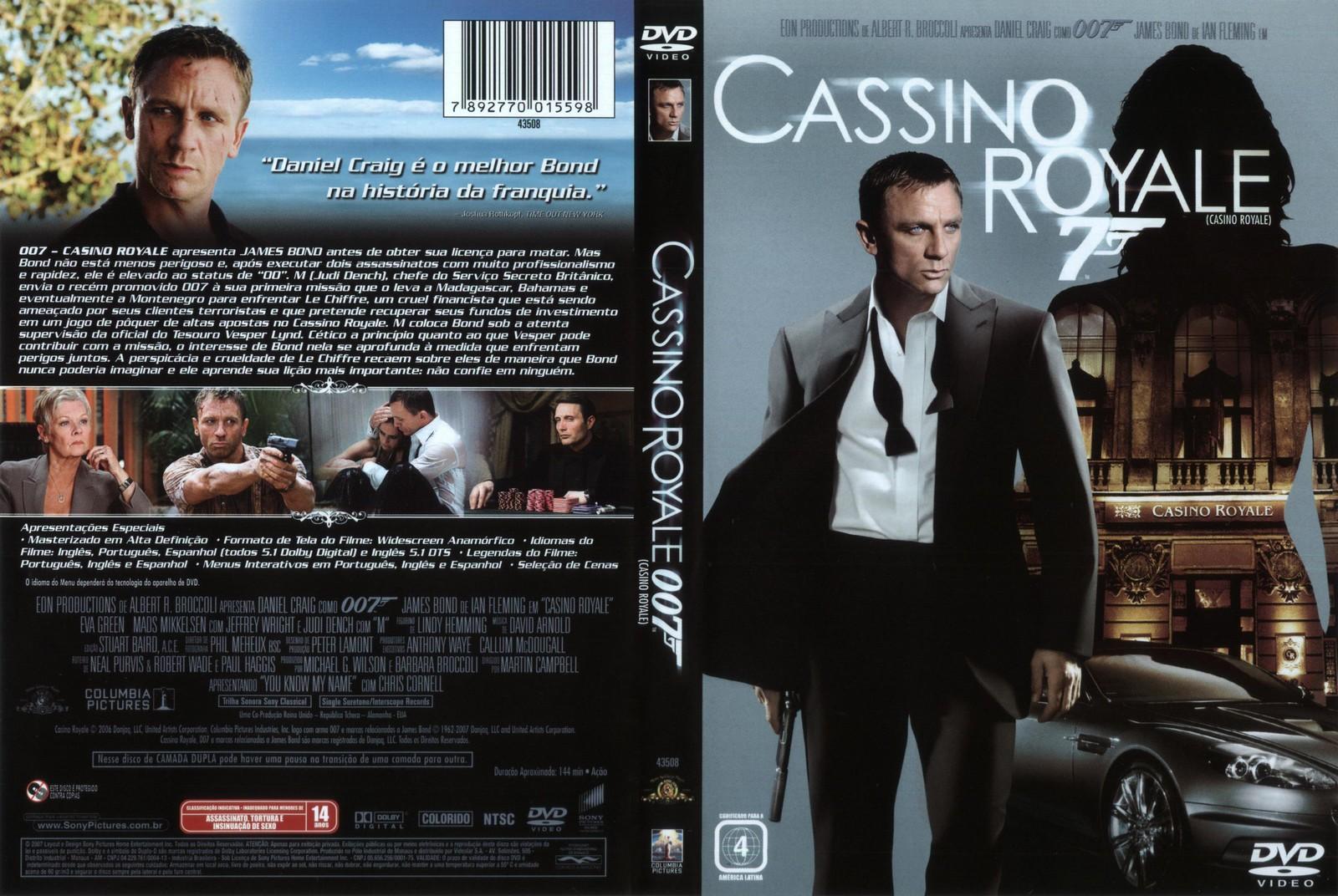 Dzhjeims Бонда 007 Казино Рояль Rambler ігри казино