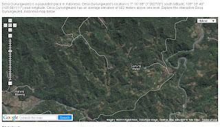 Suasana Pedesaan di Desa Gunungwuled