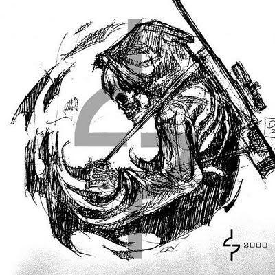 Sniper Skull Tattoo The Grim Reaper Sniper Tattoo