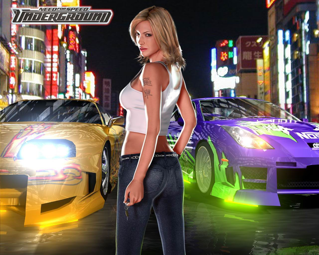 Naked girls on nfs underground pron movies