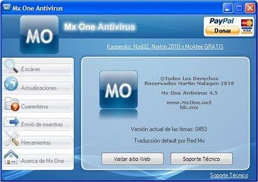 Mx One Antivirus 4.5 ML