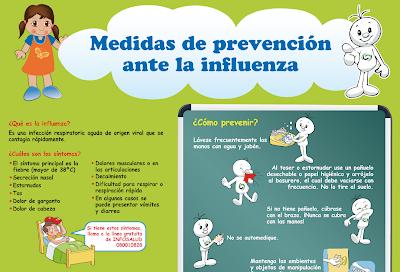 Medidas de prevención contra la Gripe A H1n1