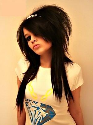 long scene hairstyles for girls. scene hairstyles for girls with long. Long Scene Hairstyles