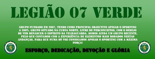 Ultras - Legião 07 Verde