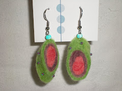 Water Mellon earrings