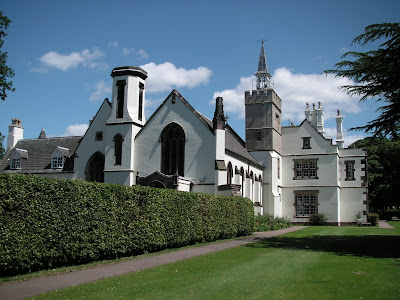 The grounds were most impressive and are used by the diocese of Nottingham