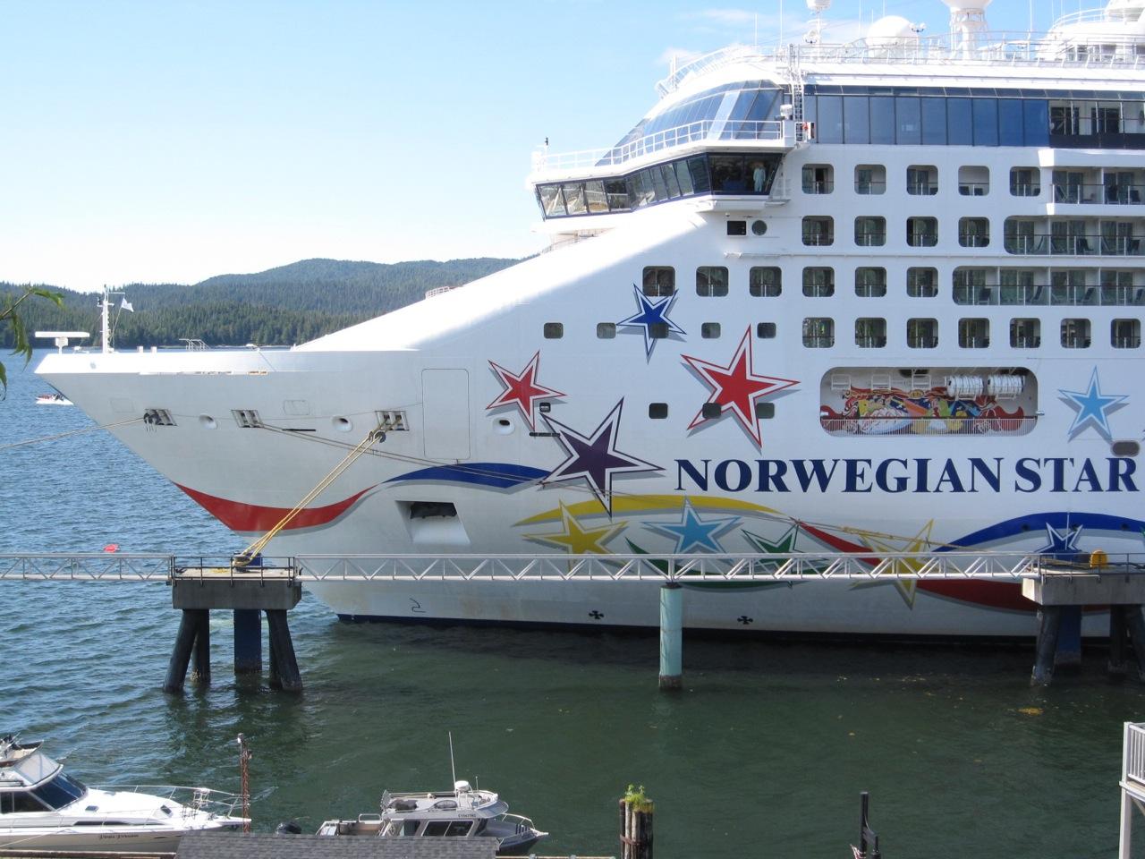 Hopscotch On Board Norwegian Cruise Lines Star To Alaska