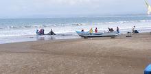 Aktifitas Nelayan di Pantai Pangandaran