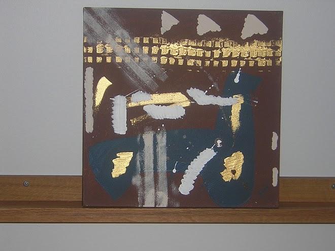 Gold 30x30 cm, 200:-