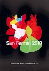Cartel San Fermin 2010