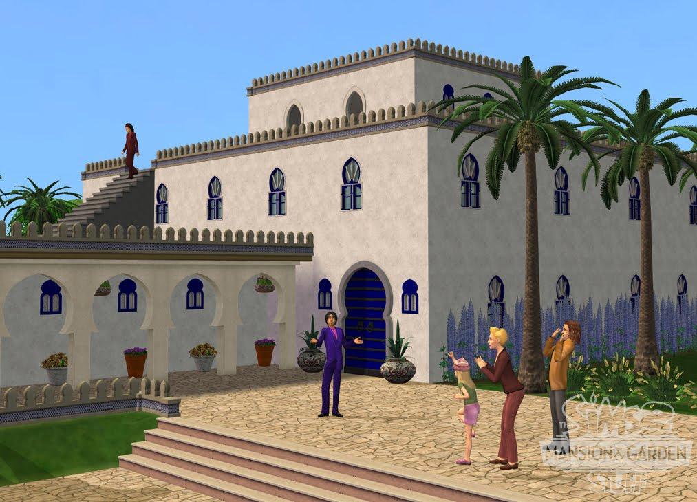 Sims blog sims 2 mansiones y jardines for Casa mansion los jardines havana